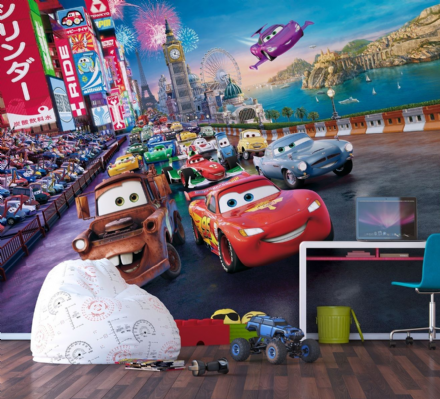Disney Premium Cars wall mural